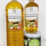 椰子油、澳洲堅果油